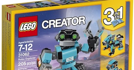 Daily Cheapskate Lowest Price Lego Creator Robo Explorer 3 In 1