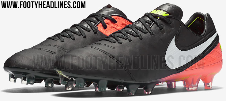 sports shoes a1789 63384 The Black and Hyper Orange Nike Tiempo Legend VI cleats were released on  November 24, 2016, and form part of the Nike Dark Lightning collection.