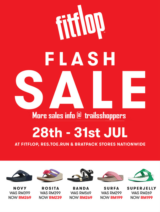 a1e16b5d7efa fitflop Sale EXTENDED until 31 Ogos 2016 - Trailsshoppers Shopping ...
