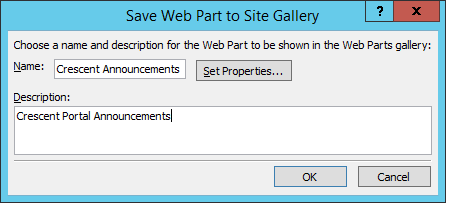 show library from subsite to parent site