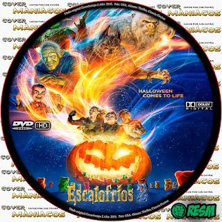 GALLETA ESCALOFRIOS 2 - GOOSEBUMPS 2 - PESADILLAS 2 - 2018 [COVER DVD]
