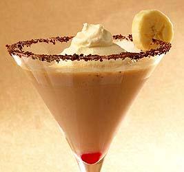 Chocolate Banana Split Martini