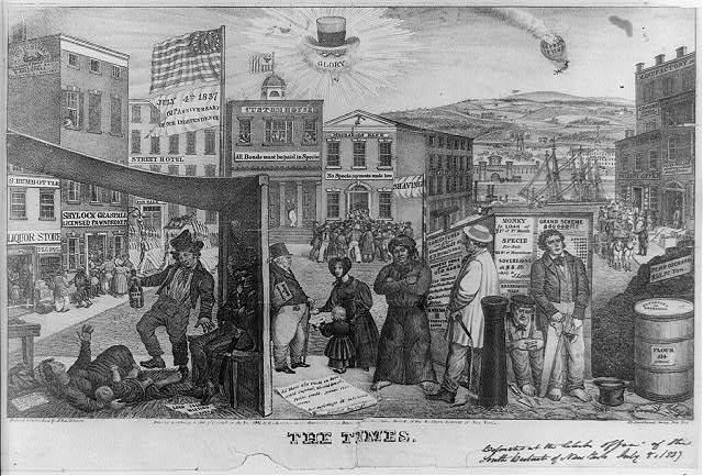 Financial panic of 1837