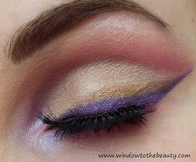 purple line makeup