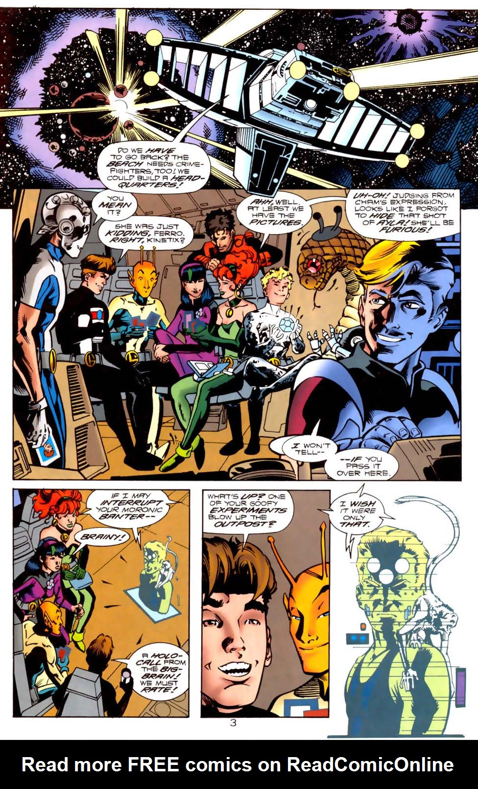 Legion of Super-Heroes (1989) 121 Page 3