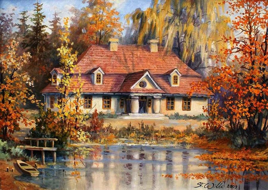 Stanislaw Wilk - Polish Landscape painter