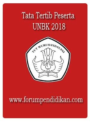 Tata Tertib Peserta UNBK 2018