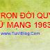 TỬ VI TRỌN ĐỜI TUỔI QUÝ MÃO NỮ MẠNG 1903 1963