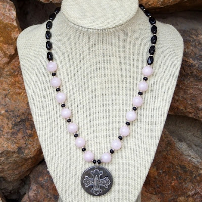 bless this woman virgin mary and cross jewelry gift idea for women
