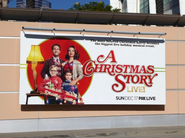 Christmas Story Live billboard
