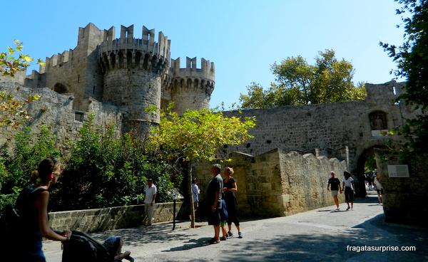 Muralhas medievais de Rodes, Grécia