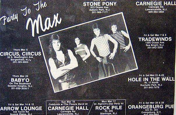 Max club line up