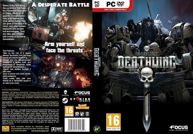 Capa Space Hulk Deathwing PC