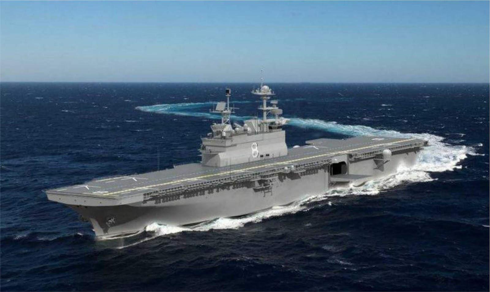 Pembangunan kapal ketiga  jenis UDC untuk Korps Marinir Amerika telah dimulai