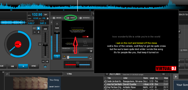 Cara download lirik lagu di Virtual DJ 8,