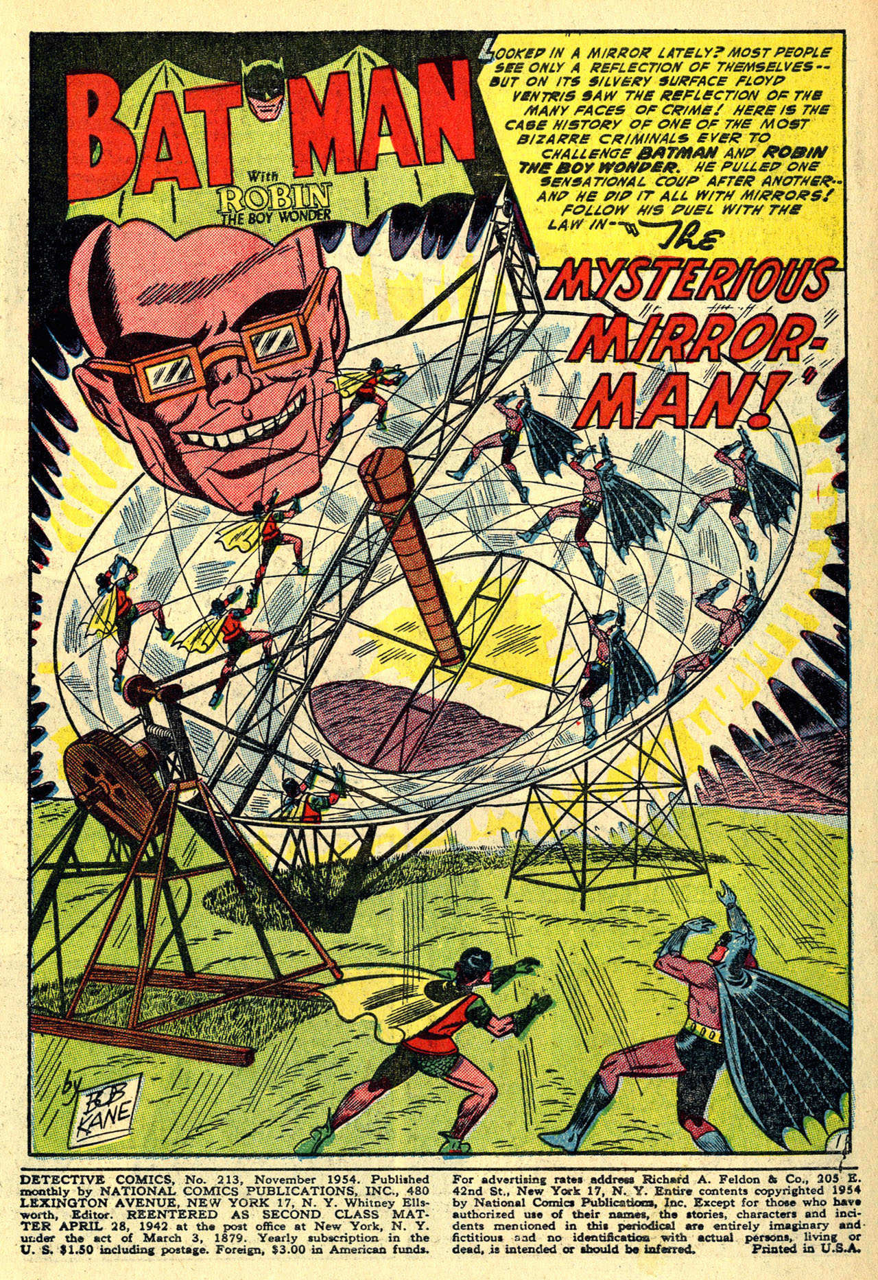 Read online Detective Comics (1937) comic -  Issue #213 - 3