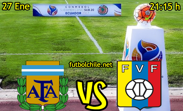 Ver stream hd youtube facebook movil android ios iphone table ipad windows mac linux resultado en vivo, online: Argentina vs Venezuela