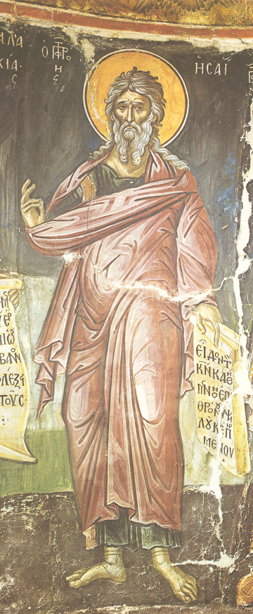 Synaxarion of the Holy Prophet Isaiah | MYSTAGOGY RESOURCE ...