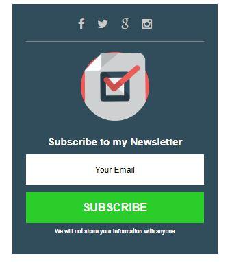 cara membuat kotak subscriber