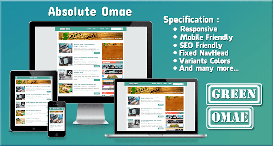 Absolute Omae Blogger Template