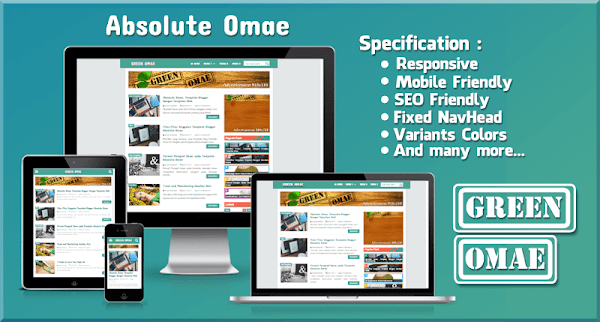 Absolute Omae Simple Blogger Template