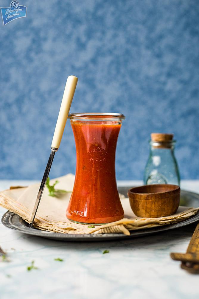 Ketchup z papryką przepis