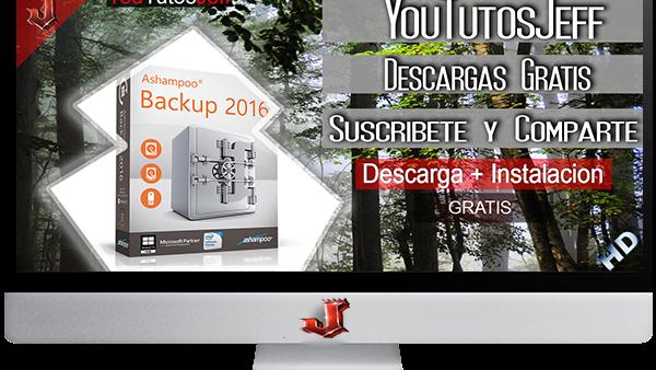 Ashampoo Backup 2016 FULL ESPAÑOL