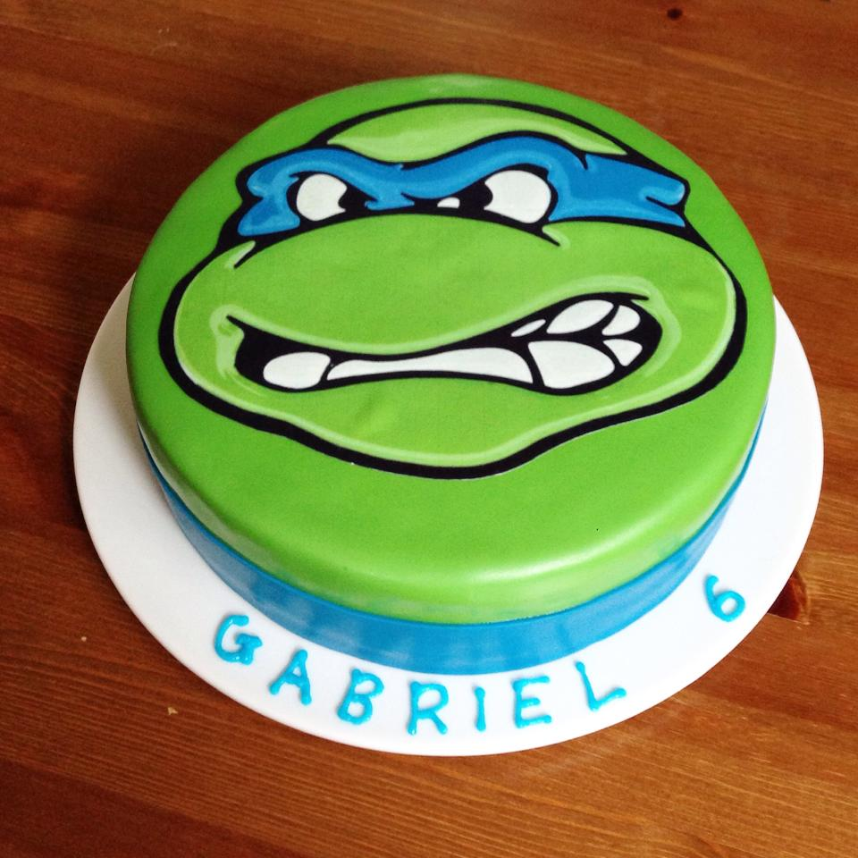 TMNT Teenage Mutant Ninja Turtle Cake by Nina McArthur