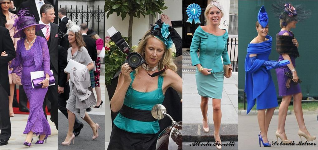 NonRoyalGuestsWorstDressed Royal Wedding Cast