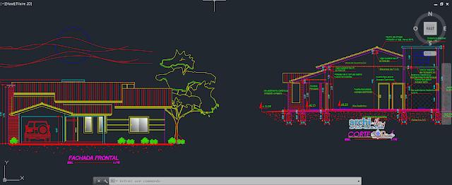 Caparison Housing in AutoCAD
