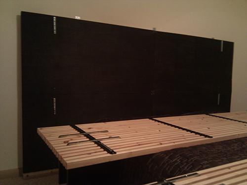 mandal headboard wall hack home decoration views. Black Bedroom Furniture Sets. Home Design Ideas