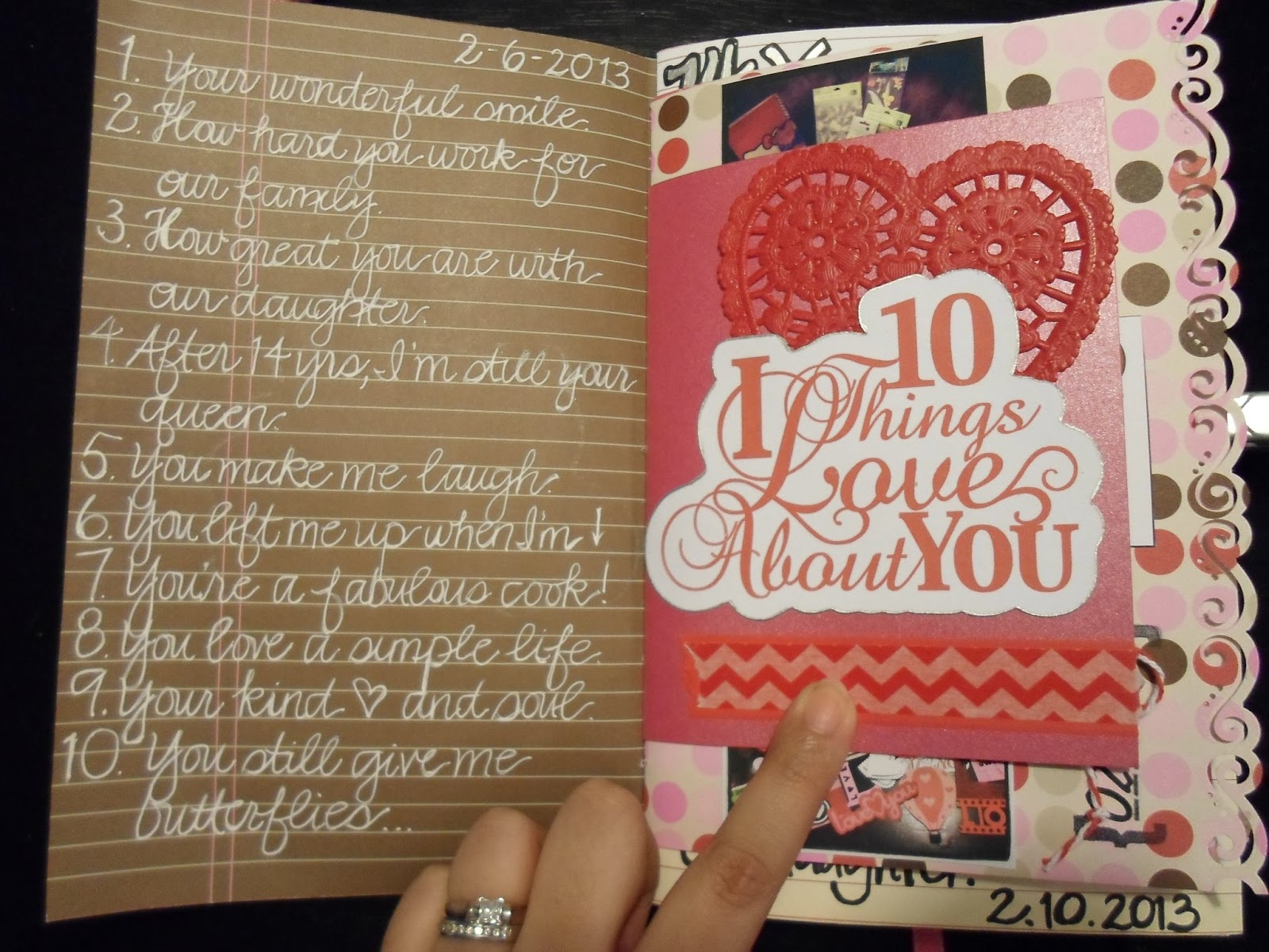 10 Things I Love About You: A Crafty Island Girl: Daybooks