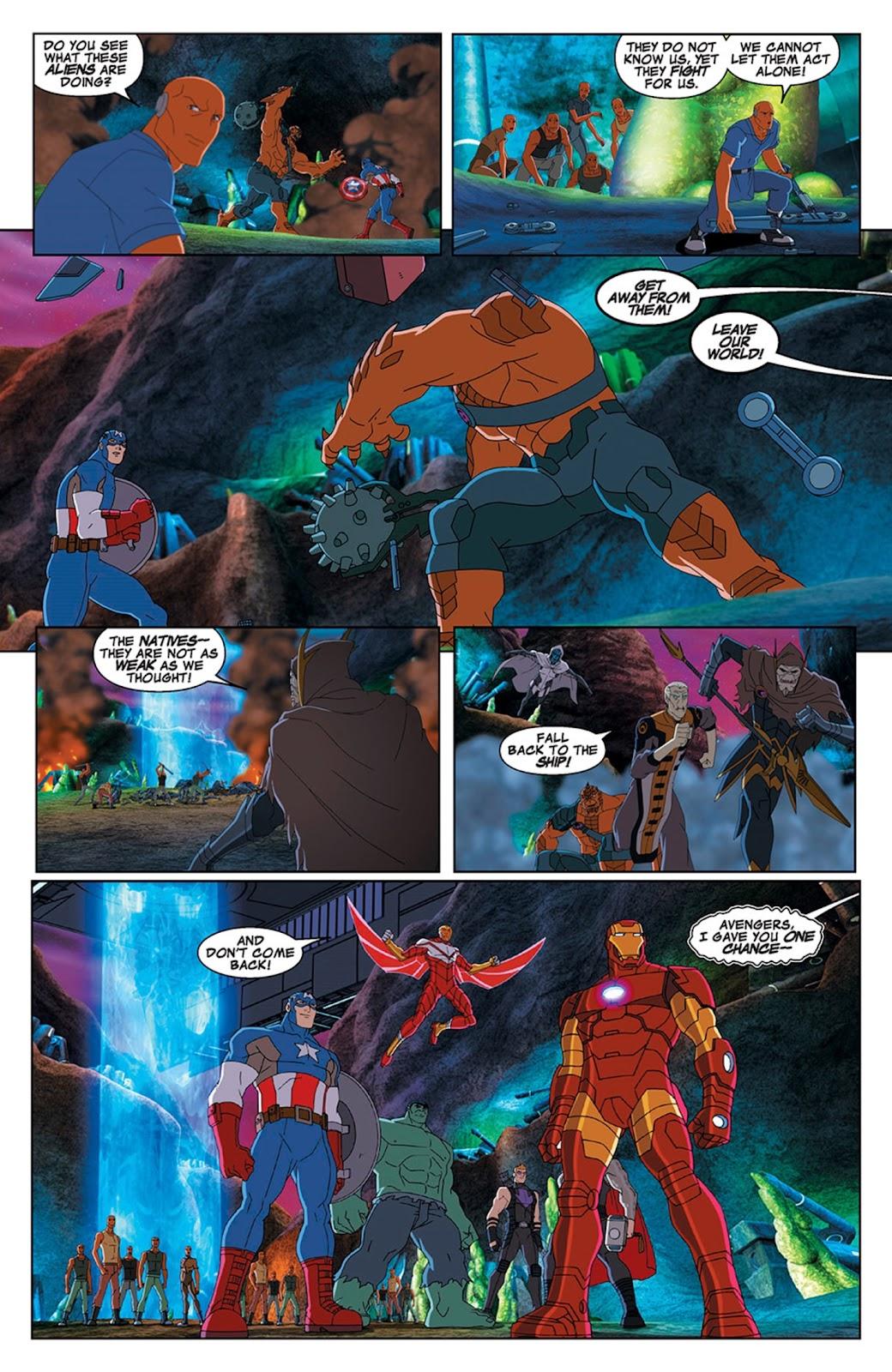 Read online Marvel Universe Avengers Assemble Season 2 comic -  Issue #15 - 25