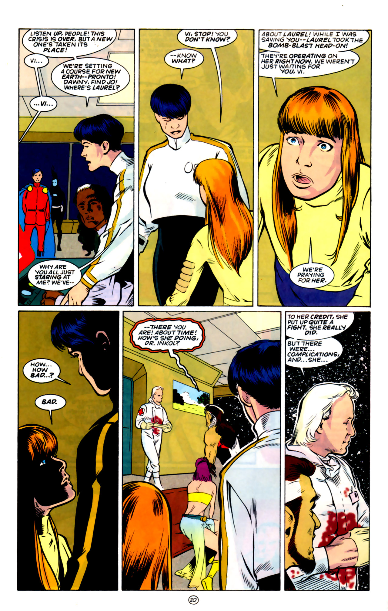 Legion of Super-Heroes (1989) 59 Page 20