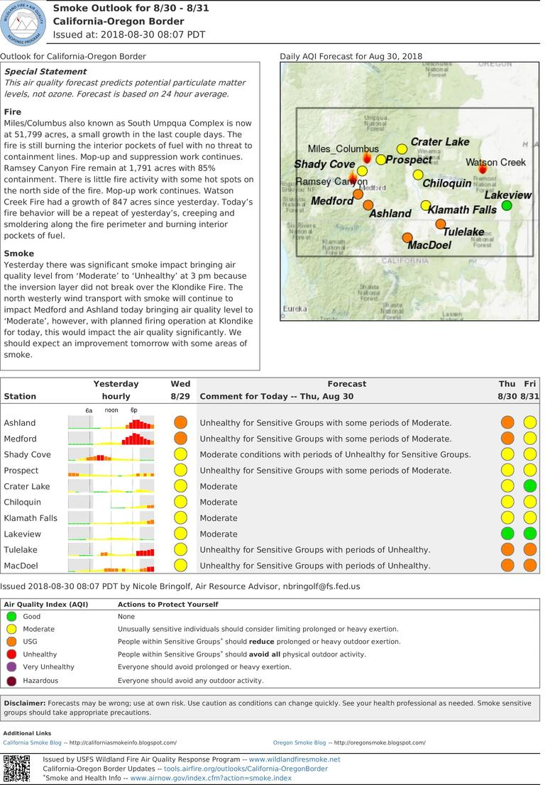 view a version of this outlook with live links at https www wildlandfiresmoke net outlooks california oregonborder