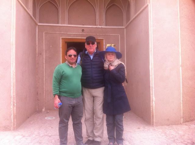 Tour de désert en Iran