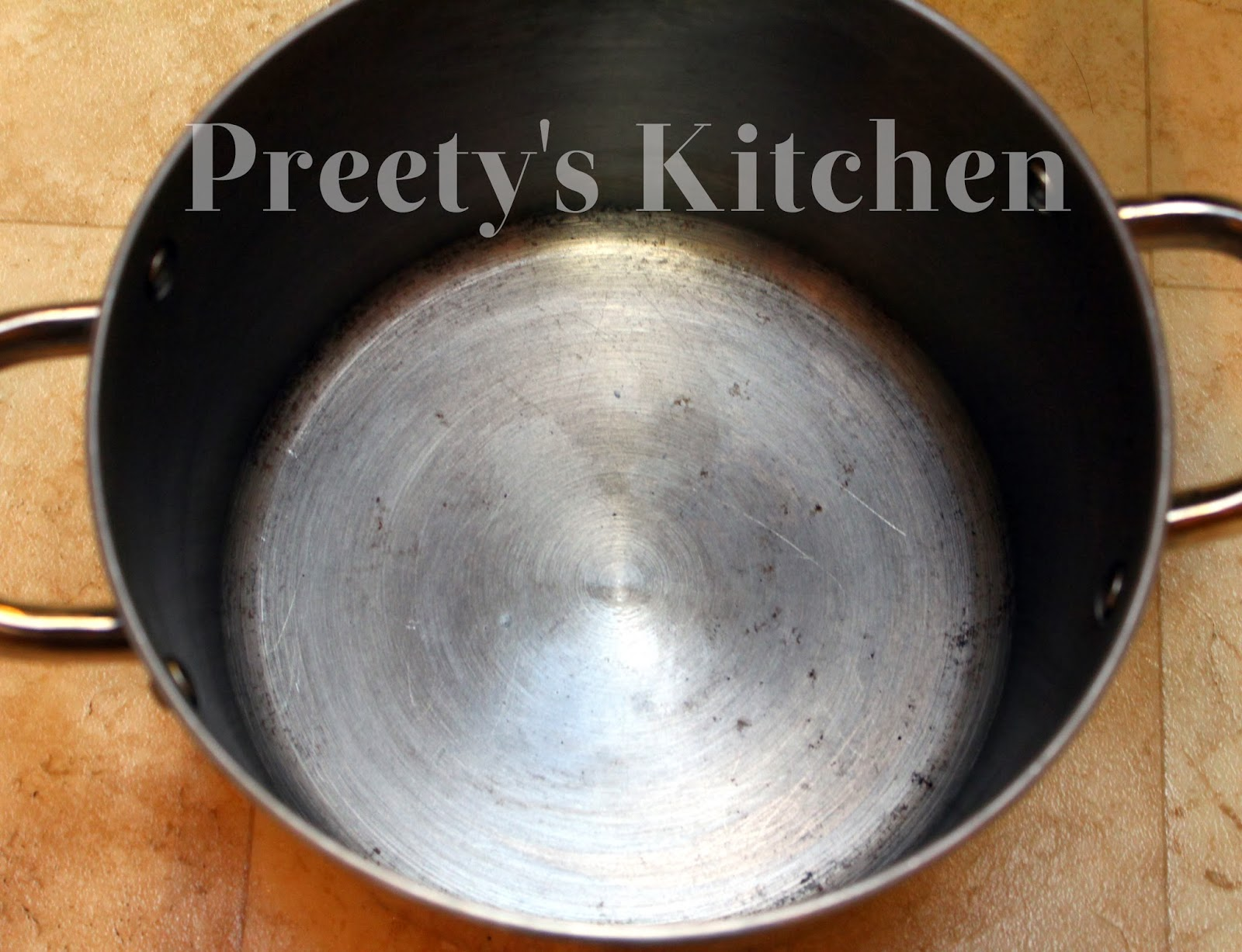 Preety S Kitchen How To Clean Burned Food From Your Pots