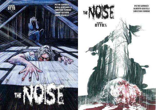 The Noise: cover degli albi 8 e  8.5