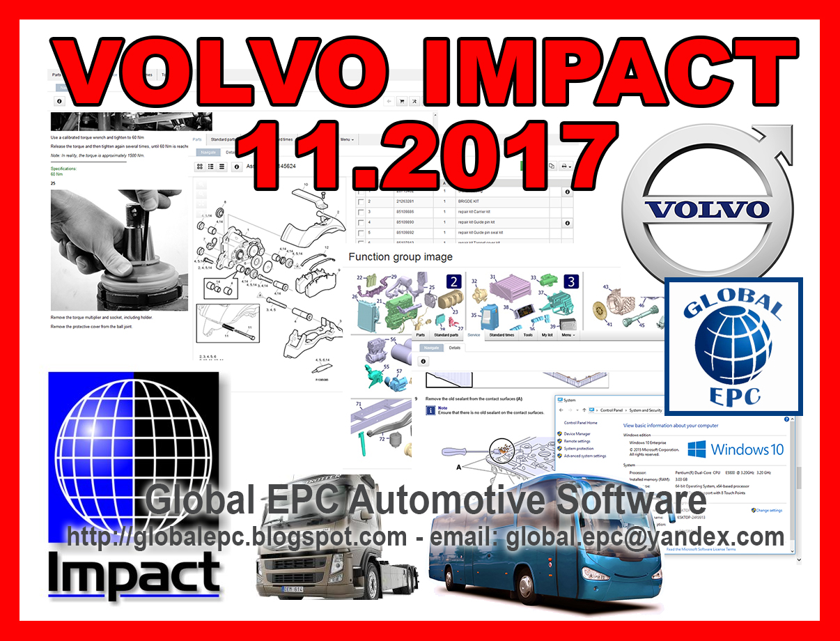 Global Epc Automotive Software Volvo Impact 112017 Buses And B7r Wiring Diagram