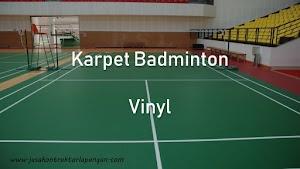 Jual Karpet Bulutangkis Vinyl Harga Terjangkau