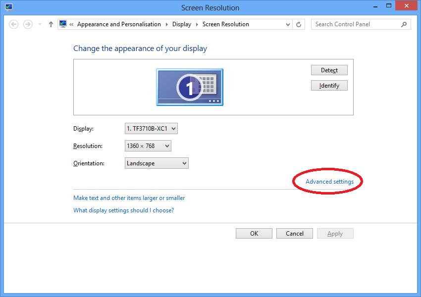 Add Custom Resolution to ATI/AMD Display Card