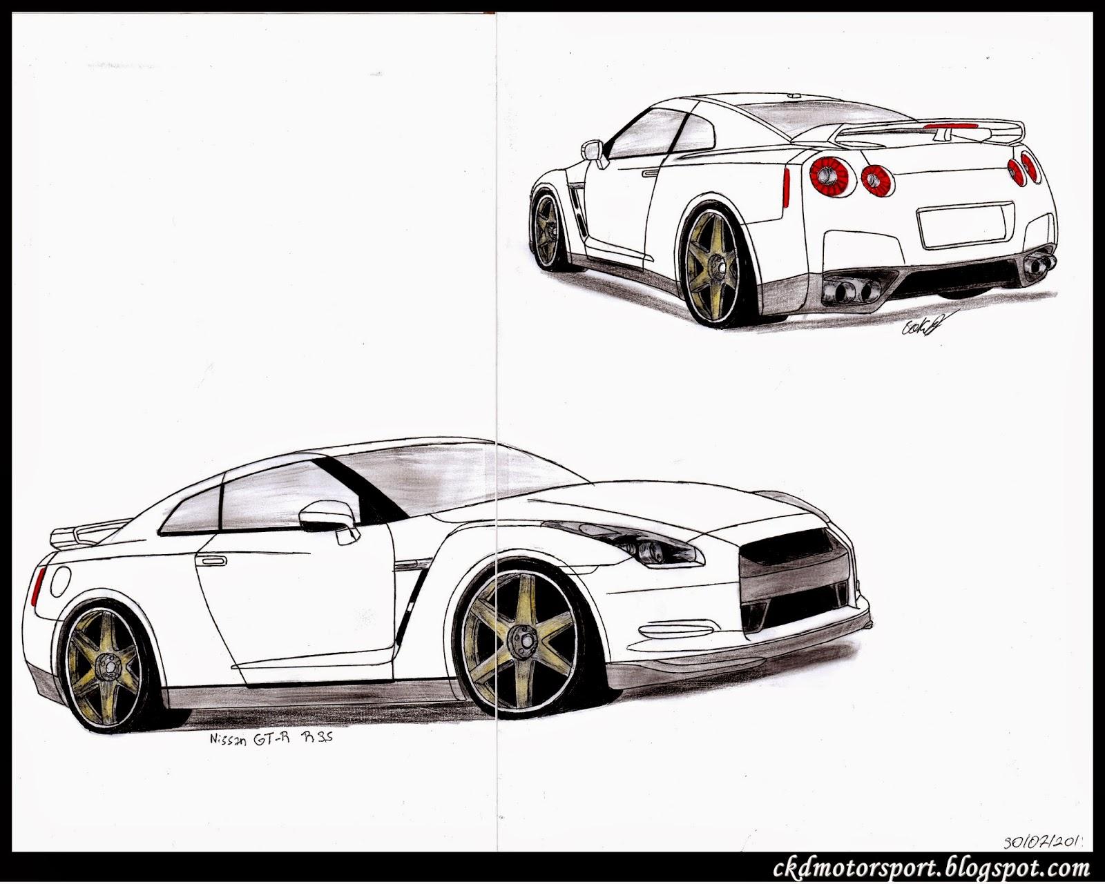 Ckd Motorsport Nissan Gt R R35