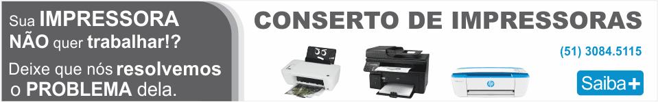 Conserto e manutencão de impressoras