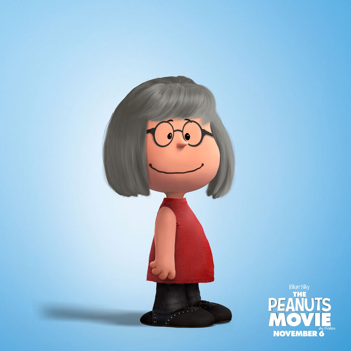 Kelly as a Peanuts Character