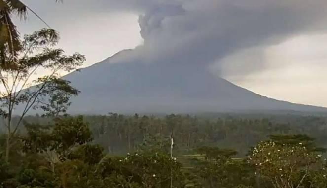 Letusan Dahsyat Gunung Agung Bisa Mirip Skenario 1963
