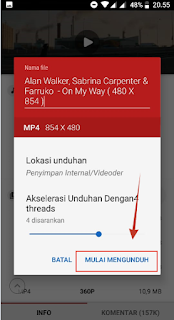 Aplikasi Download Video Gratis di Android