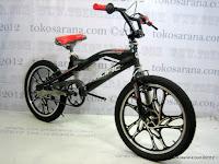 3 Sepeda BMX Pacific X-Cross Racing Free Style 20 Inci