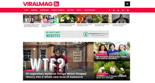 Viral Mag Multipurpose Responsive Blogger Template