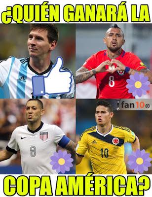 memes copa america semifinales argentina