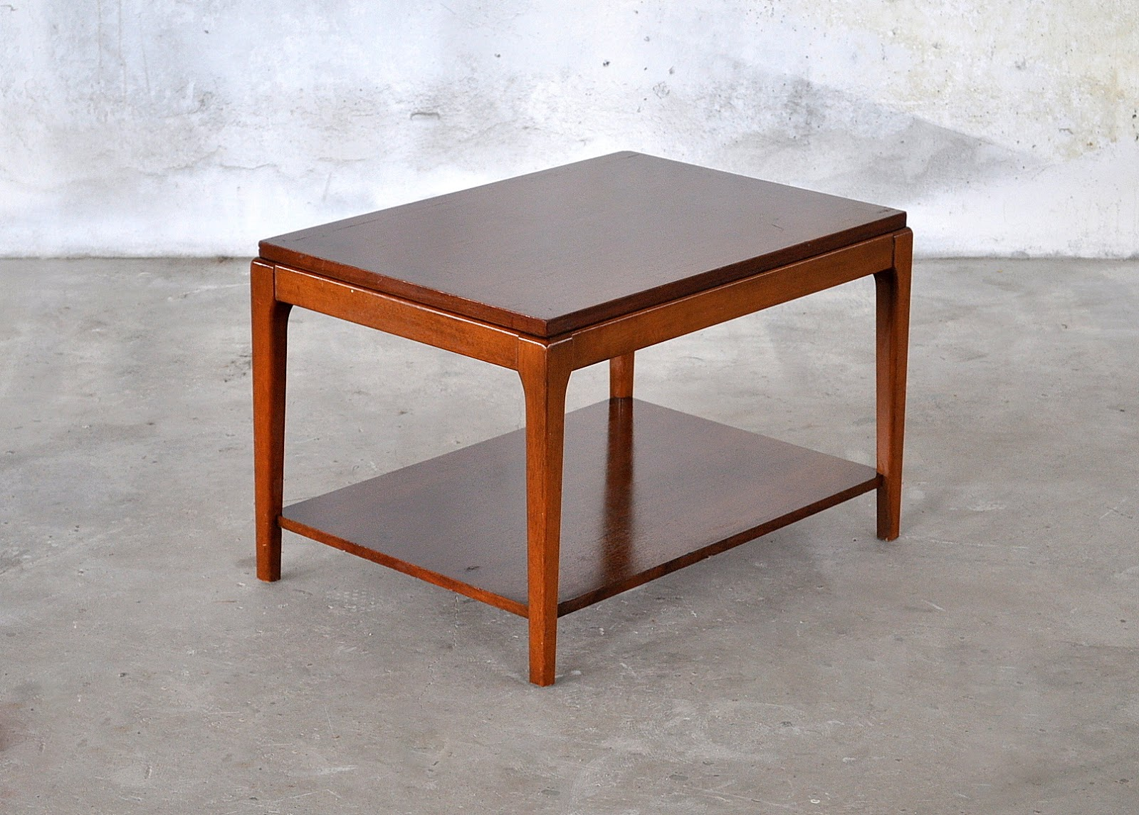 Select Modern Mid Century Modern Side End Table Small